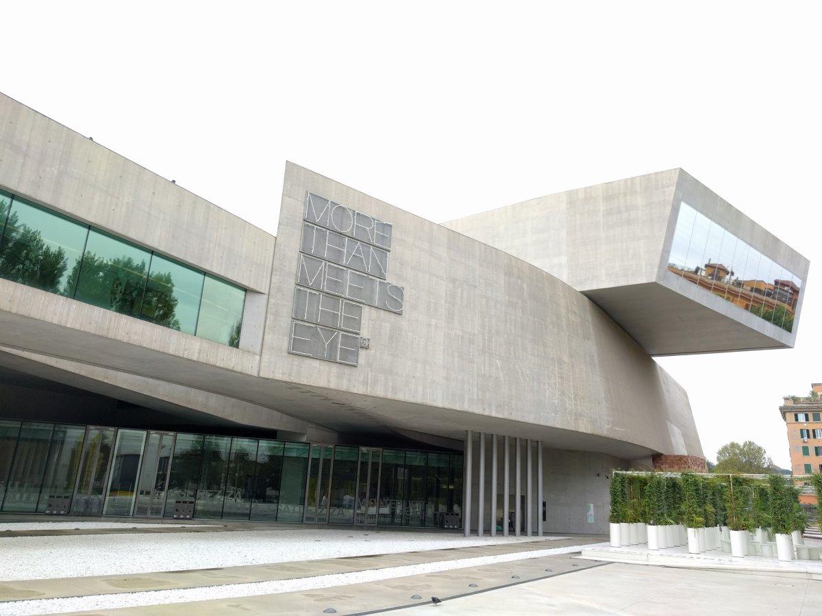 MAXXI – Museo nazionale delle arti del XXI secolo