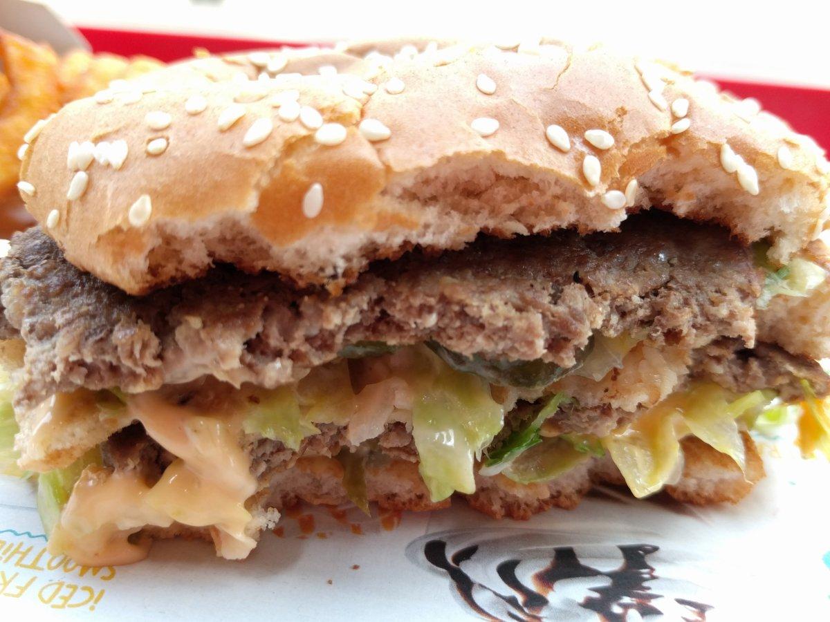Big Mac ohne Erdbeeren