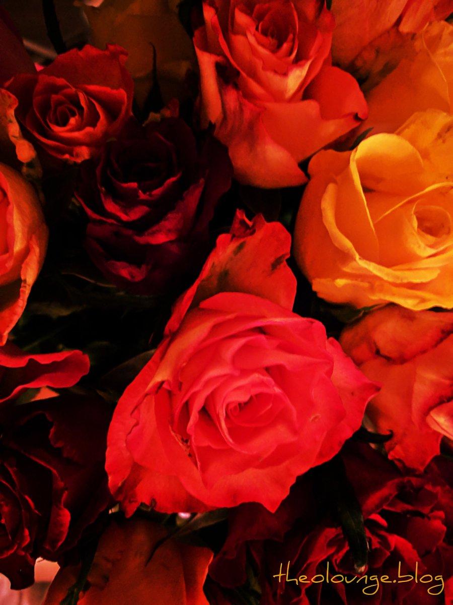 Valentinstag. Blumen gefällig?
