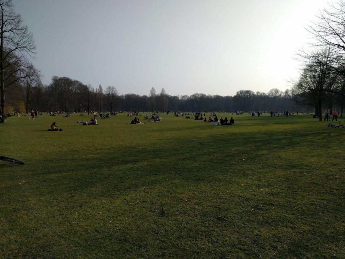 München im März. Impressionen