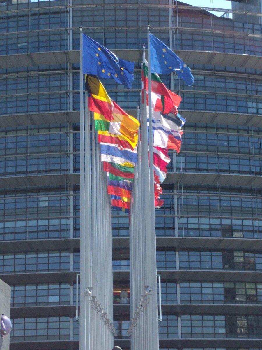 Die europäischen Institutionen in Straßburg. Impressionen.